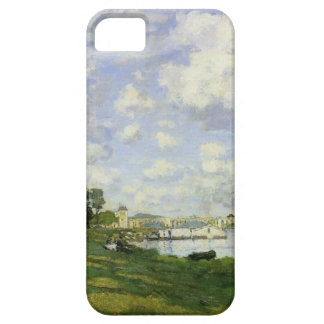 The Basin at Argenteuil - Claude Monet iPhone 5 Covers