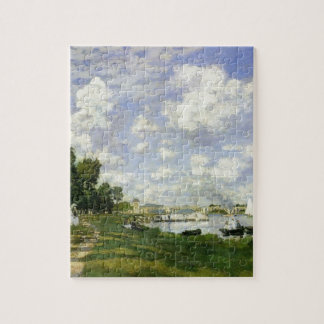 The Basin at Argenteuil - Claude Monet Jigsaw Puzzle