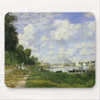 The Basin at Argenteuil - Claude Monet Mouse Pad