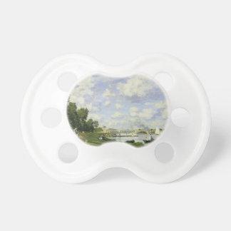 The Basin at Argenteuil - Claude Monet Pacifier