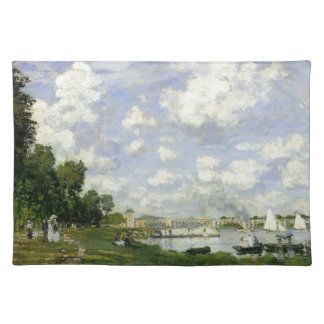 The Basin at Argenteuil - Claude Monet Placemat