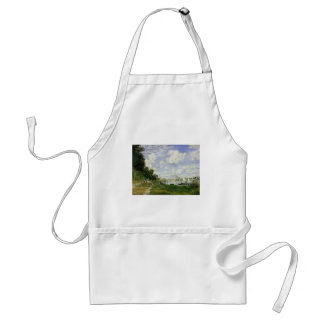 The Basin at Argenteuil - Claude Monet Standard Apron