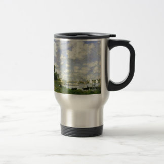 The Basin at Argenteuil - Claude Monet Travel Mug