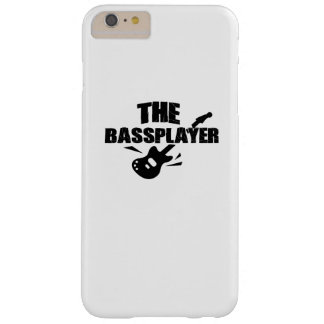 The Bass Player  Music Lover Bass Guitar Gifts Barely There iPhone 6 Plus Case