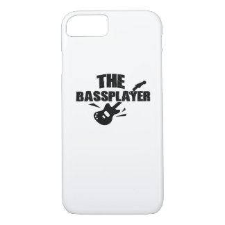 The Bass Player  Music Lover Bass Guitar Gifts iPhone 8/7 Case