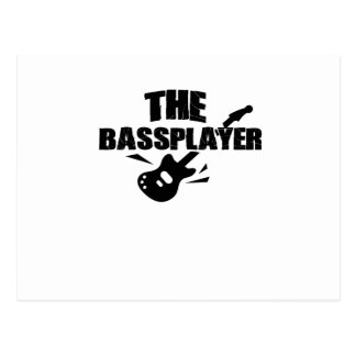 The Bass Player  Music Lover Bass Guitar Gifts Postcard