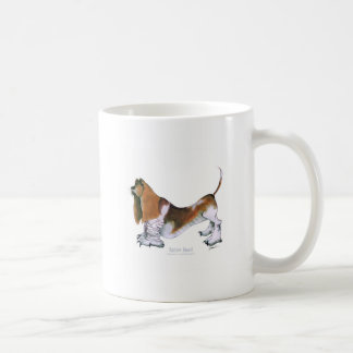 the basset hound, tony fernandes coffee mug