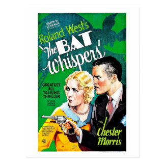 The Bat Whispers Postcard