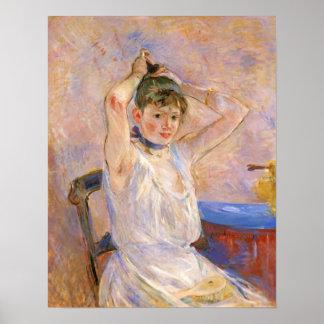 The Bath by Berthe Morisot Poster