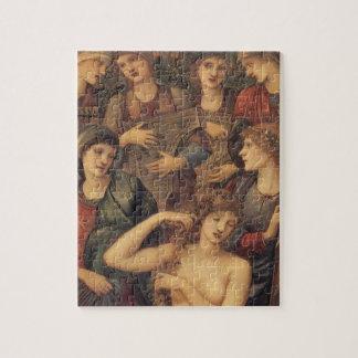 The Bath of Venus by Sir Edward Coley Burne Jones Jigsaw Puzzle