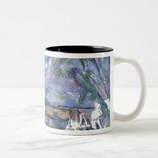 The Bathers, 1902-06 Two-Tone Coffee Mug