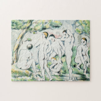 The Bathers, Small plate Jigsaw Puzzle