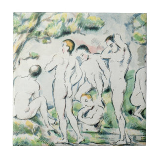 The Bathers, Small plate Tile