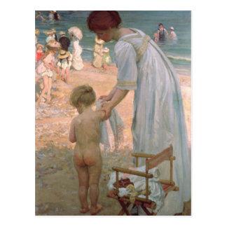 The Bathing Hour Postcard