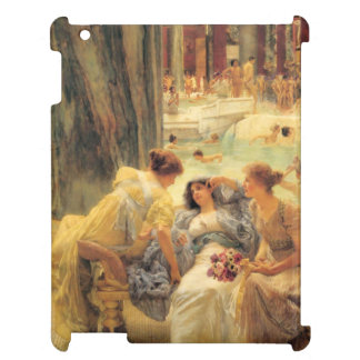 The Baths of Caracalla by Lawrence Alma-Tadema Case For The iPad