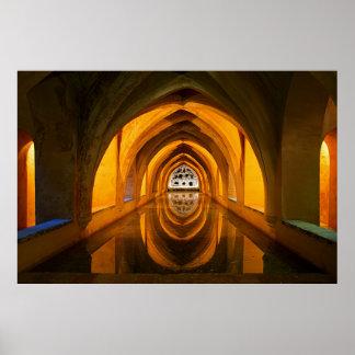 The Baths of Lady Maria de Padilla. Poster