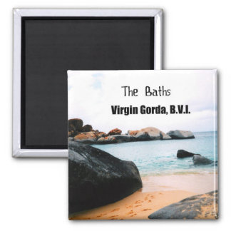 The Baths, Virgin Gorda B.V.I. Magnet