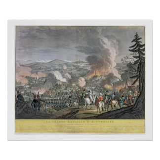 The Battle of Austerlitz, December 2nd 1805 (colou Poster