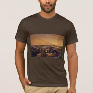 The Battle Of Borodino By Hess Peter Von T-Shirt
