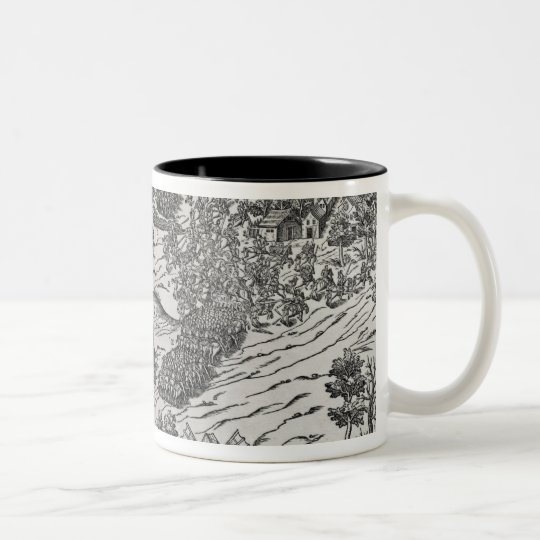 The Battle of Dreux, 19th December 1562 Two-Tone Coffee Mug