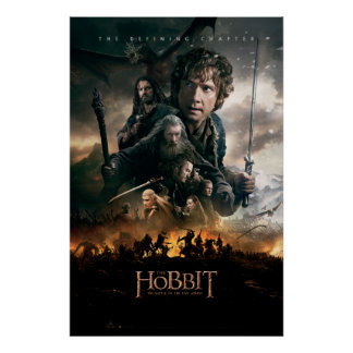 THE BATTLE OF FIVE ARMIES™ War Posters