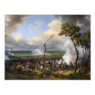 The Battle of Hanau by Horace Vernet (1824) Postcard