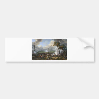 The Battle of Hanau by Horace Vernet Bumper Sticker