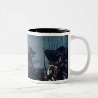 The Battle of Iena, 14th October 1806 (for detail Two-Tone Coffee Mug