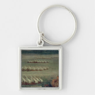 The Battle of Lepanto, 7th October 1571 Keychain