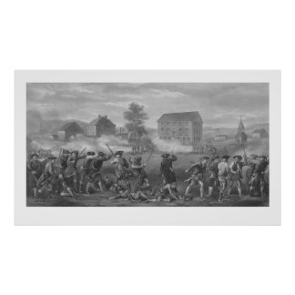 The Battle of Lexington Poster