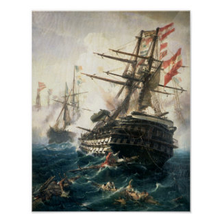 The Battle of Lissa Poster
