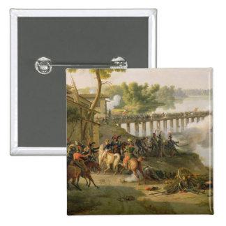 The Battle of Lodi 2 Inch Square Button