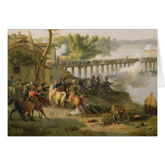 The Battle of Lodi Card