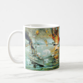 The Battle of Manila Bay Spanish American War Coffee Mug