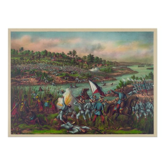 The Battle of Manila Paceo Philippine American War Poster