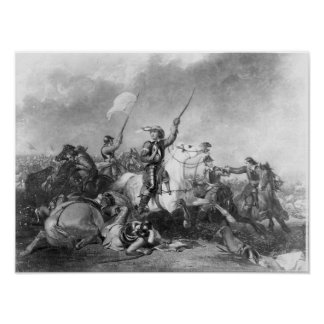 The Battle of Marston Moor, 2nd July 1644 Poster