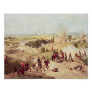 The Battle of Molino del Rey, 8th September 1847 Poster