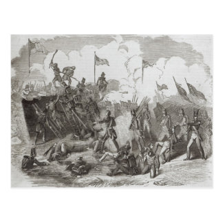 The Battle of New Orleans Postcard