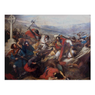 The Battle of Poitiers Postcard
