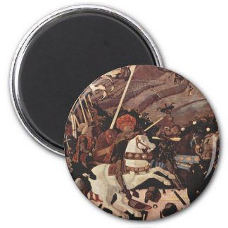 The Battle of San Romano Part II 2 Inch Round Magnet