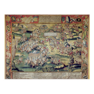 The Battle of St. Denis Postcard
