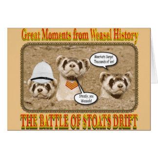 The Battle of Stoats Drift Notecard
