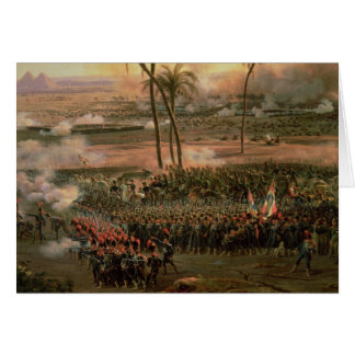 The Battle of the Pyramids, 21 July 1798, 1806 Card