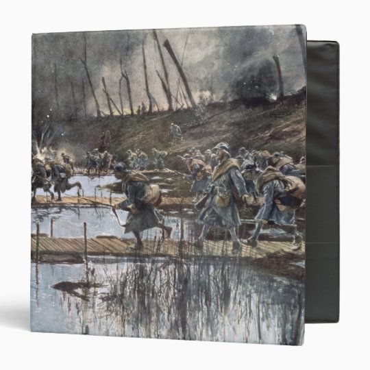 The Battle of the Yser in 1914 Vinyl Binder