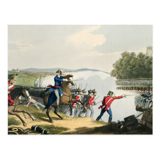The Battle of Waterloo Decided by the Duke of Well Postcard