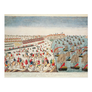 The Battle of Yorktown, 19th October 1781 Postcard