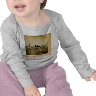 The Battleship Maine Vintage Stereoview T Shirts