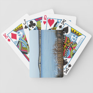 """the bay bridge"" Bay Saint Louis Playing Cards"