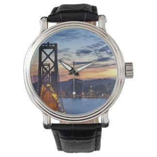 The Bay Bridge from Treasure Island Wristwatch