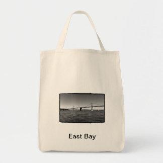 The Bay Bridge Grocery Tote Bag